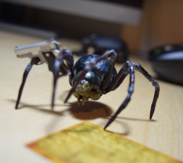 Can a Spider Kill You? Maybe Once They Learn How to Conceal Carry.