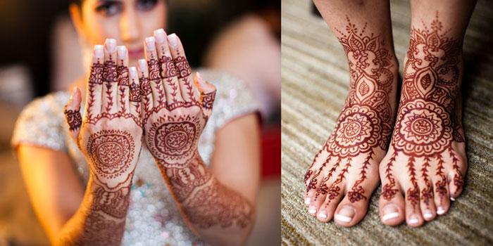 Traditional Henna Mehndi