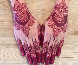 Red Henna Mehndi